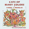 Cats of Many Colors (Large Print)