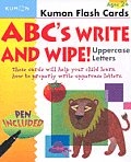 ABC's Write and Wipe!: Uppercase Letters with Pens/Pencils (Kumon Flash Cards)