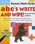 ABC's Write and Wipe!: Lowercase Letters [With Pen]