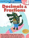 Kumon Decimals & Fractions Grade 4