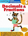 Kumon Decimals & Fractions Grade 5