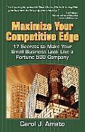 Maximize Your Competitive Edge: 17 Secrets to Make Your Small Business Look Like a Fortune 500 Company