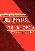 Astroamerica's Daily Ephemeris 2010-2020 Midnight Cover