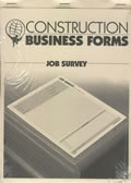 Atlas Construction Business Forms: Job Survey