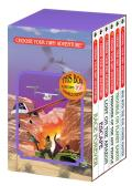 Choose Your Own Adventure 6 Book Box Set No 2 Containing Race Forever Escape Lost on the Amazon Prisoner of the Ant People Trouble on Planet Earth & War With the Evil Master