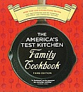 The America's Test Kitchen Family Cookbook: Cookware Rating Edition Cover