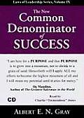 New Common Denominator of Success