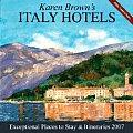 Karen Browns Italy 2007