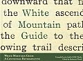 White Mountain Guide: A Centennial Retrospective Cover
