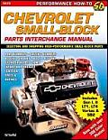 Chevrolet Small Block Parts Interchange (SA Design)