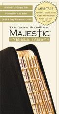 Majestic Bible Tabs, Traditional Gold-Edged, Mini