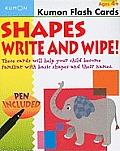Shapes Flashcards Write & Wipe (Kumon Flash Cards)
