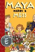 Maya Makes a Mess (Toon Books) Cover