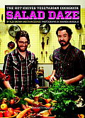 Salad Daze: The Hot Knives Vegetarian Cookbook Cover