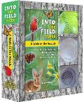 A   Walk in the Woods: Into the Field Guide: A Hands-On Introduction to Cool, Common Critters, Trees, Flowers, and Rocks [With Paperback Book and Mesh