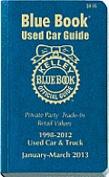Kelley Blue Book Used Car Guide: January-March 2013
