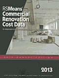 RSMeans Commercial Renovation Cost Data 2013