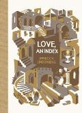 Love, an Index (McSweeney's Poetry) Cover