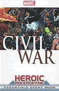 Marvel Heroic RPG Civil War Event Book Essentials Edition