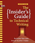 Insiders Guide To Technical Writing