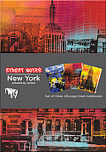 Street Notes-New York: Set of Three 48-Page Lined Notebooks