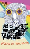 An Electric Sheep Jumps to Greener Pasture Signed Edition