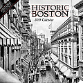 Historic Boston 2015 Calendar