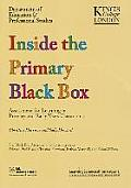 Inside the Primary Black Box: Assessment for Learning in the Primary and Early Years Classrooms