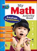 Preschool Fun - My Math Activity Book