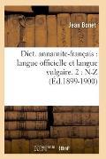 Dict. Annamite-Francais: Langue...