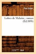 Lettres de Malaisie: Roman (?d.1898)