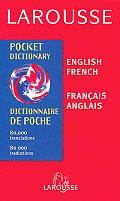 Larousse Pocket Dictionary French/English-English/French