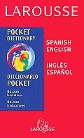 Larousse Pocket Spanish English English