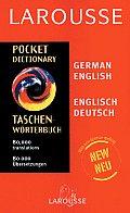 Larousse Pocket German/English Dictionary (Larousse Bilingual Dictionaries)
