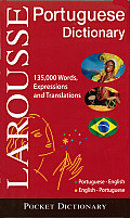 Larousse Pocket Dictionary: Portuguese-English/English-Portuguese Cover