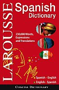 Larousse Concise Dictionary: Spanish-english / English-spanish (09 Edition)
