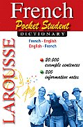 French Pocket Student Dictionary Cover