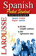 Larousse Pocket Student Dictionary Spanish English English Spanish