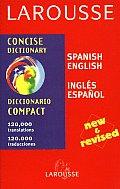 Larousse Concise Spanish English Op Ed