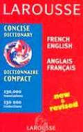 Larousse Dictionnaire Compact Larousse Concise Dictionary French English English French
