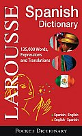 Larousse Pocket Dictionary: Spanish-English / English-Spanish (Larousse Bilingual Dictionaries) Cover