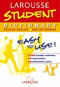 Larousse Student Dictionary Spanish English English Spanish