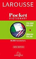 Larousse Pocket Italian Dictionary Larousse Dizionario Tascabile Italian English English Italian Italiano Inglese Inglese Italiano