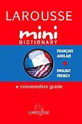 Larousse Mini Dictionary Francais Anglais English French
