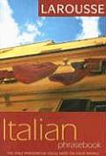 Larousse Italian Phrasebook