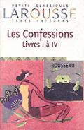 Les Confessions Livres 1 A 4