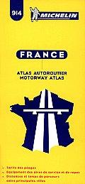 Michelin France Motorway Atlas