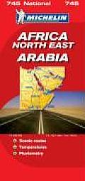 Africa Northeast Arabia National Map