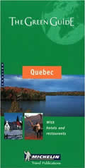 Michelin Green Guide Quebec 6th Edition