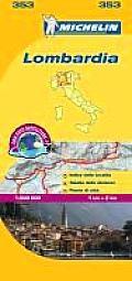 Michelin Lombardia Map